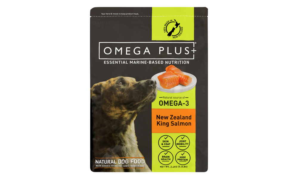 Omega plus king salmon dry dog   web2