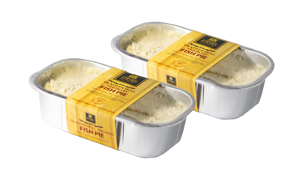 Smoked fish pie x2  grand central kitchen ready meals   web