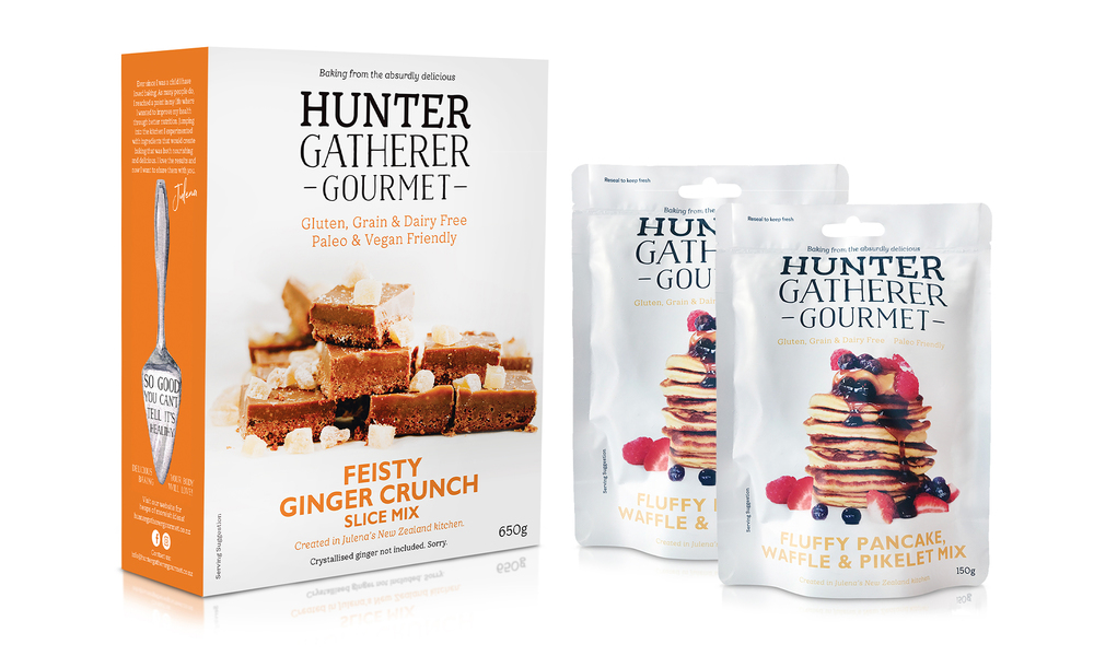 Hunter gatherer baking bundle 2 x pancakes 1 x ginger crunch   web1