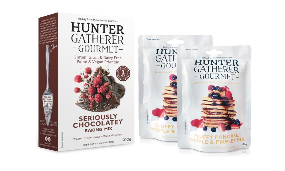 Hunter gatherer baking bundle 2 x pancakes 1 x chocolate mix   web1