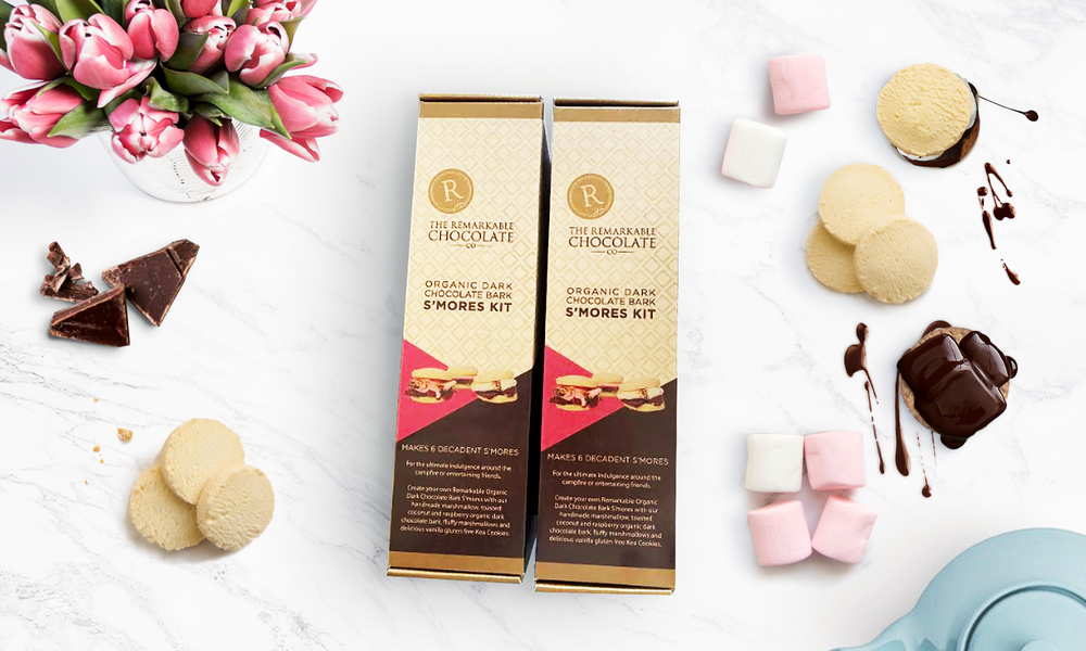 The remarkable chocolate co s mores web