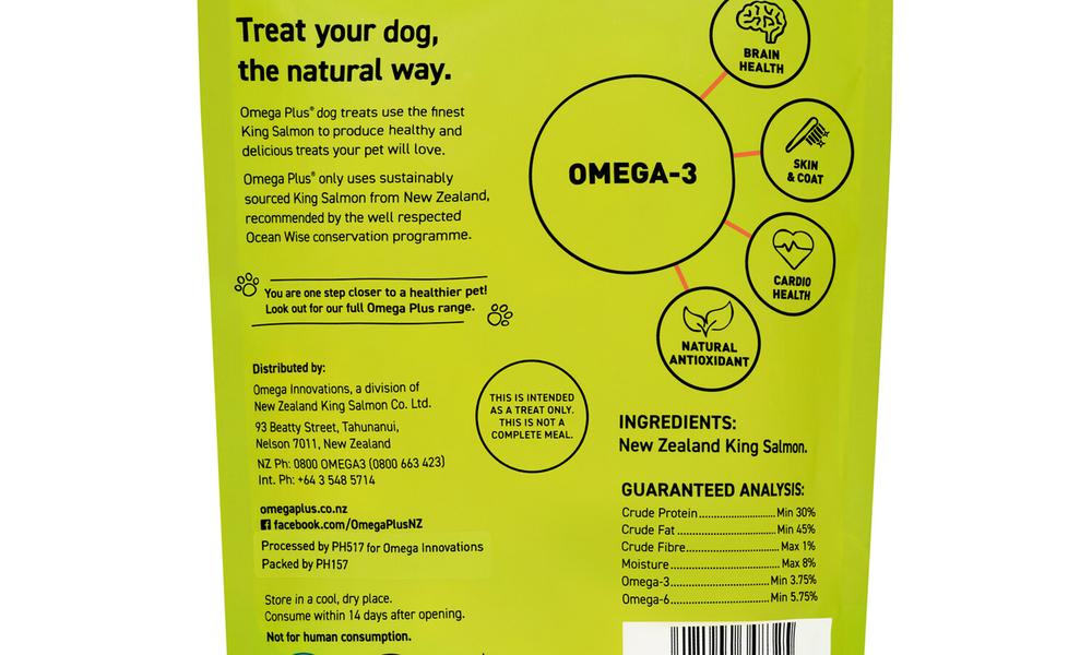 Omega plus king salmon tails   pet treats new 2320   web3