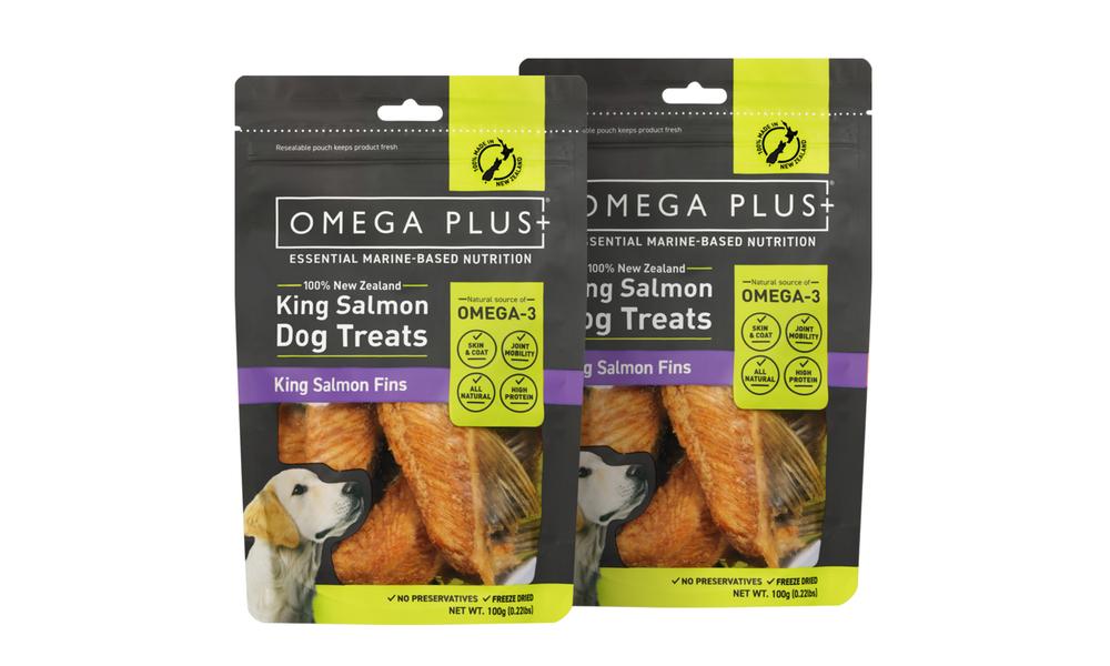 Omega plus king salmon fins   pet treats new 2321   web1