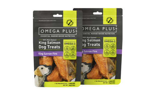 Omega plus king salmon fins   pet treats new 2321   web1