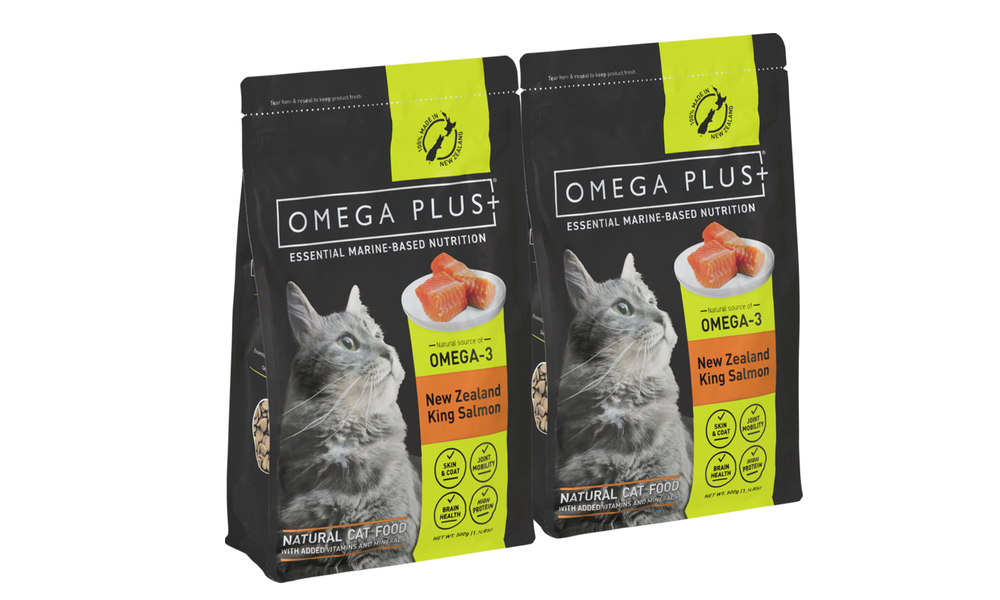 2 x omega plus king salmon dry cat food 2092   web