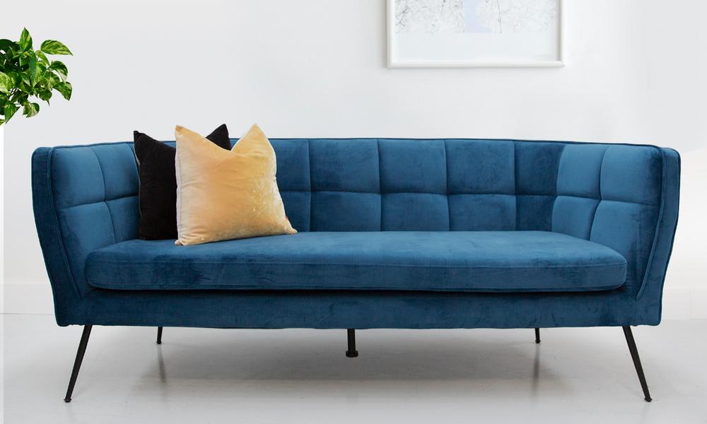 Albert 3 seater velvet sofa 2318   web1