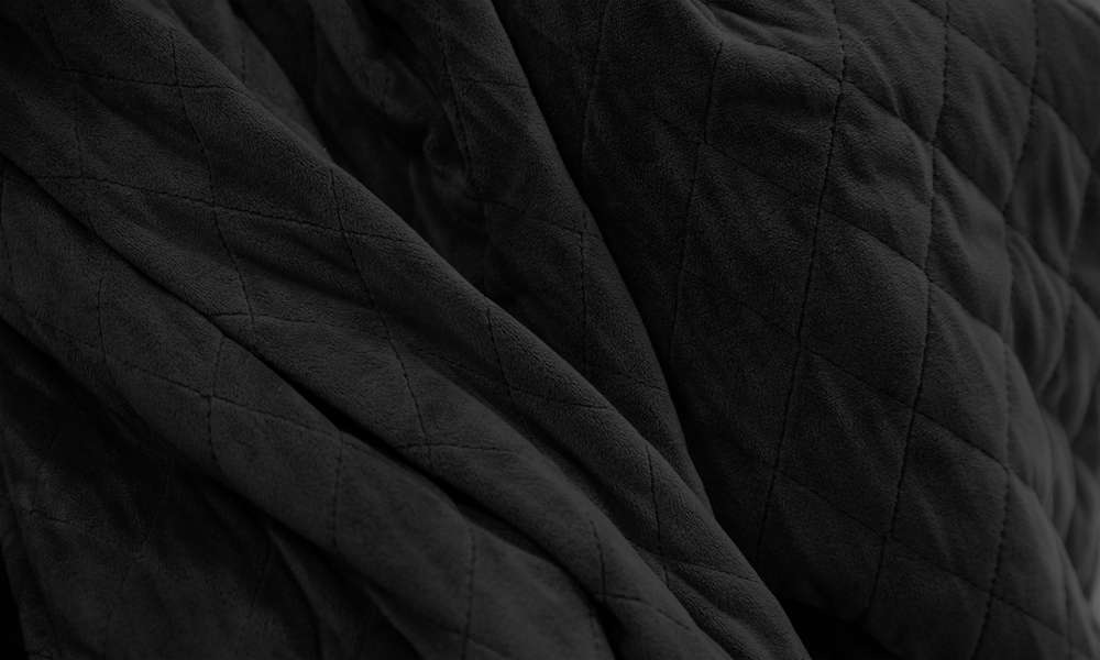 Black weighted blanket   web2