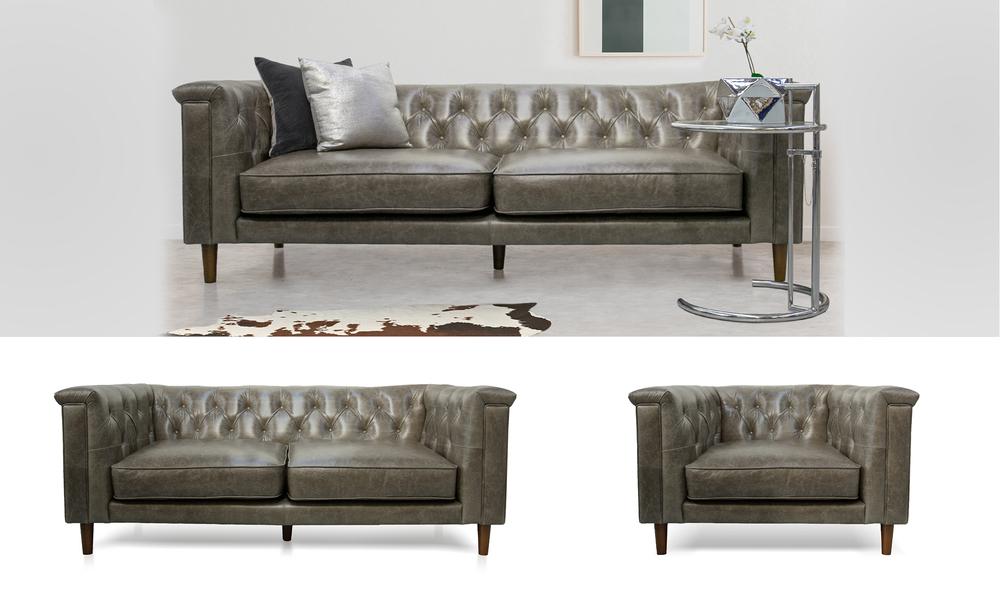 Grid barletta leather sofa 2324   web