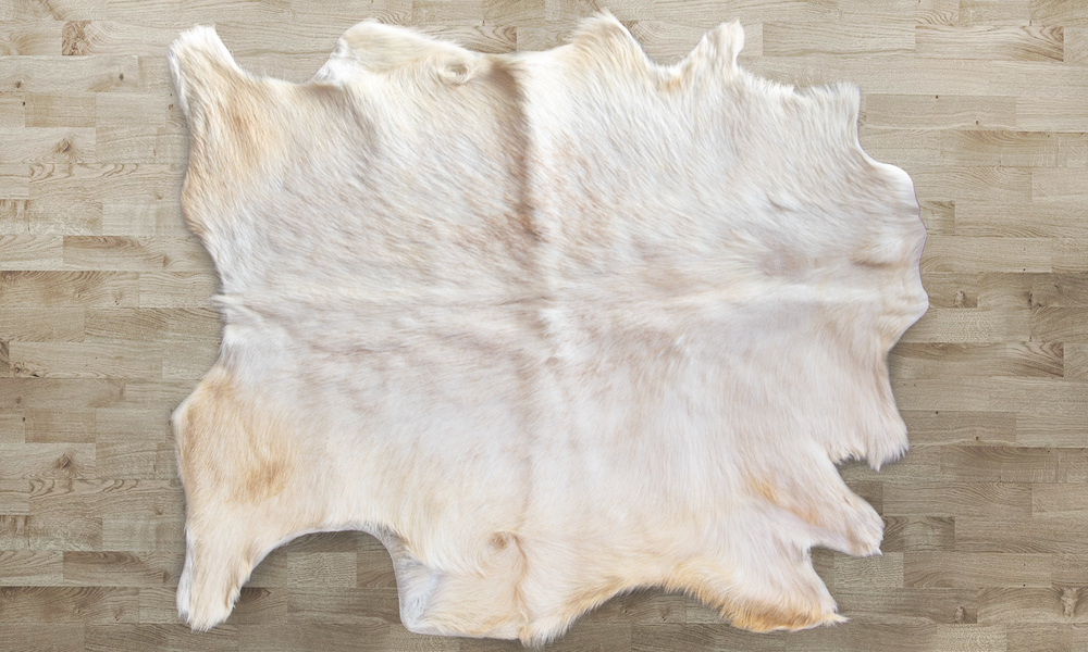 New zealand made goat skin rug 2348   web1
