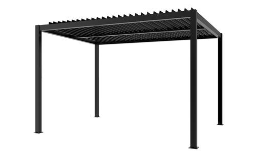 294 x 394 dark charcoal   aluminium pergola   web 1