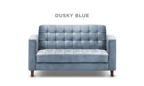 New dusky blue   knightly velvet 2 seater couch   web1