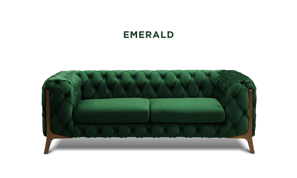 New emerald   diablo velvet button 2 seater sofa   web