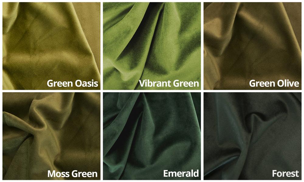 Velvet swatches2 green