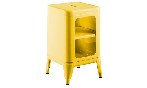 Yellow   replica frederic gaunet tolix cabinet 2 tier   web1