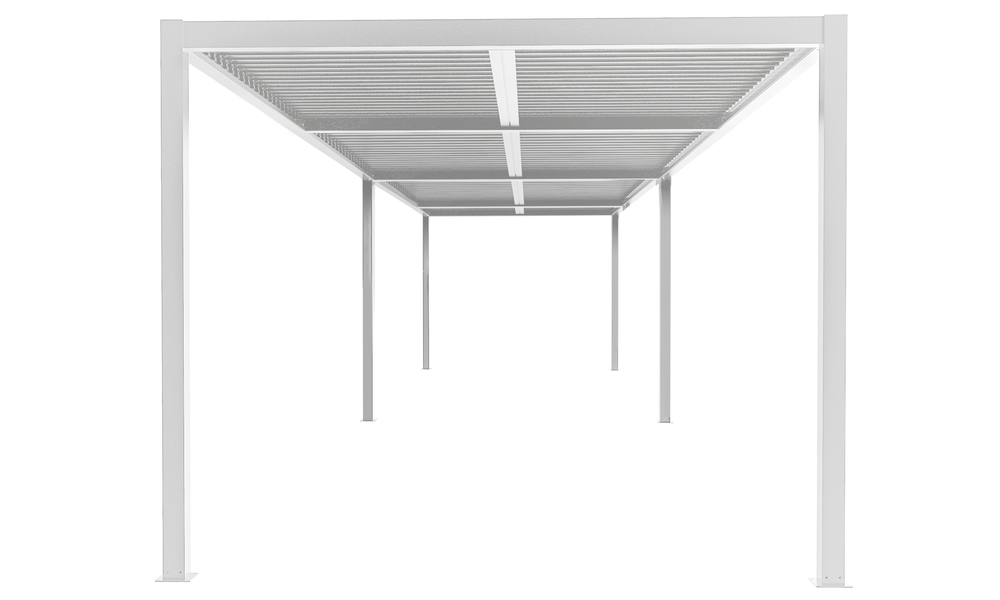 8x3 matte white   aluminium pergola 2357   web1