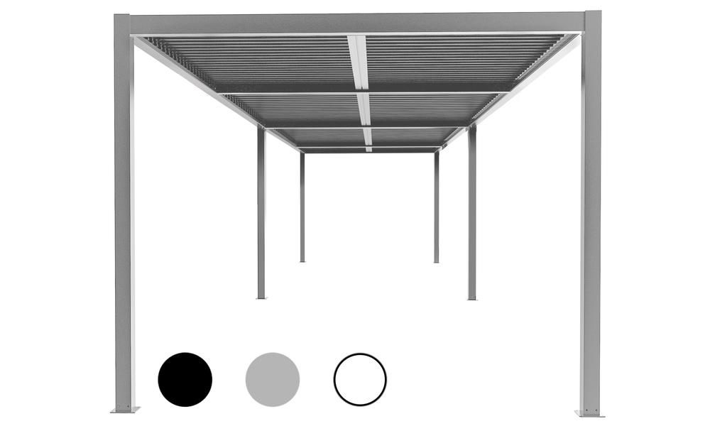 Hero 8x3 matte grey   aluminium pergola 2357   web1
