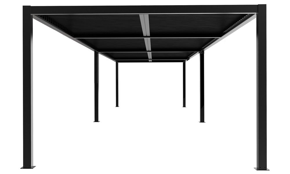 8x4 dark charcoal   aluminium pergola 2359   web1