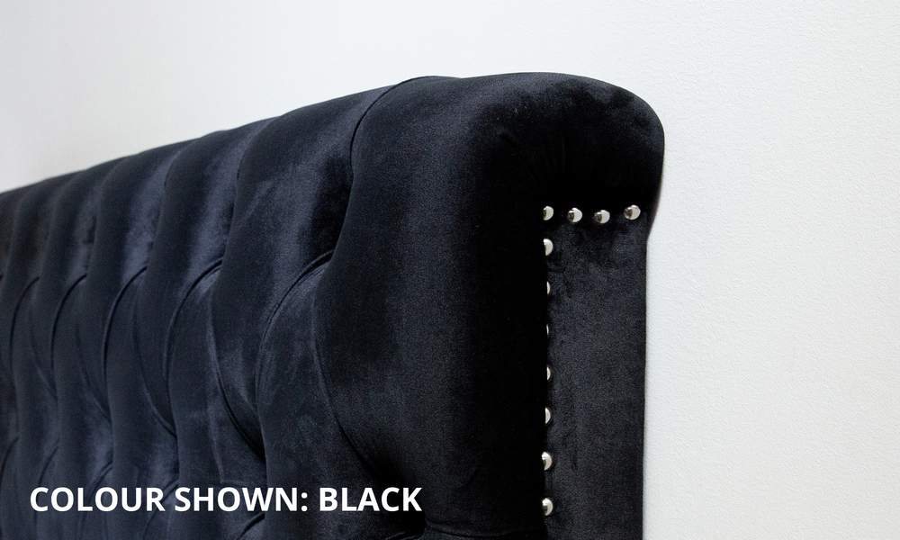Black   kingston velvet tufted headboard   web3 1