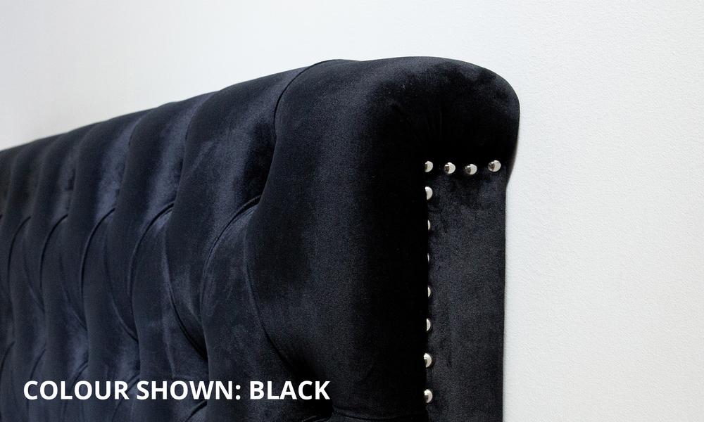 Black   kingston velvet tufted headboard   web3 1