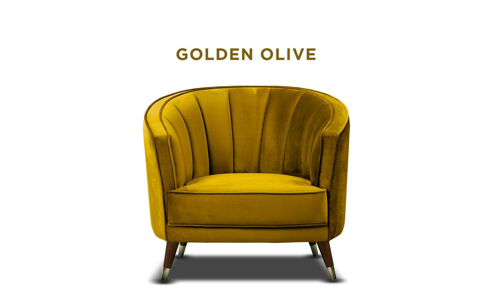 New golden olive   bijou velvet occasional chair   web1