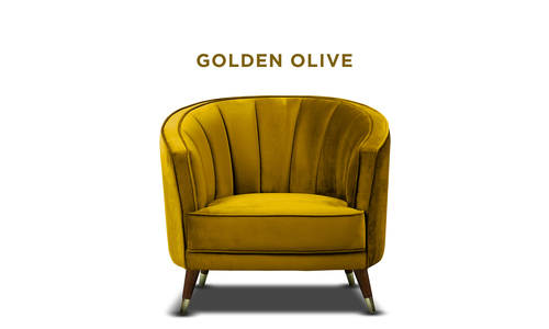 New golden olive   bijou velvet occasional chair   web1