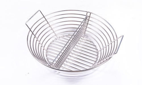 Charcoal holder with divider   web