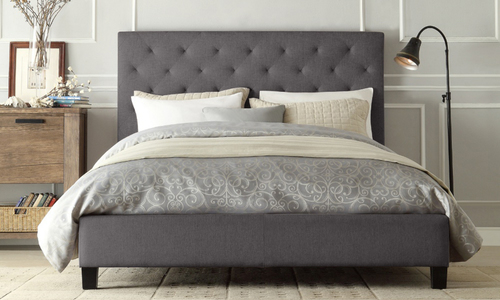Covered bed slate