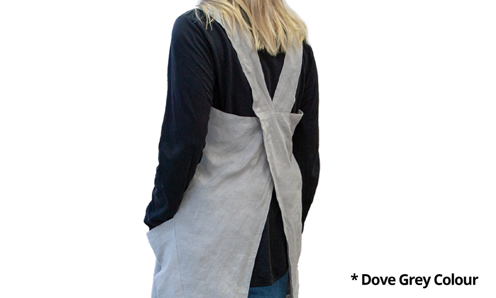 100  stone washed french linen apron 2353   web4