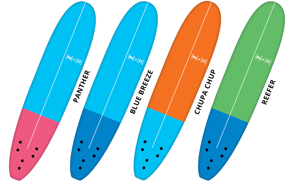 Soft surfboards plain 551   web1