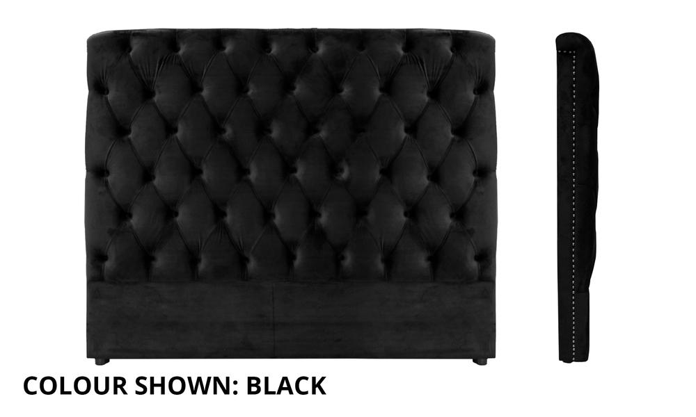 Black full shot   kingston velvet tufted headboard   web