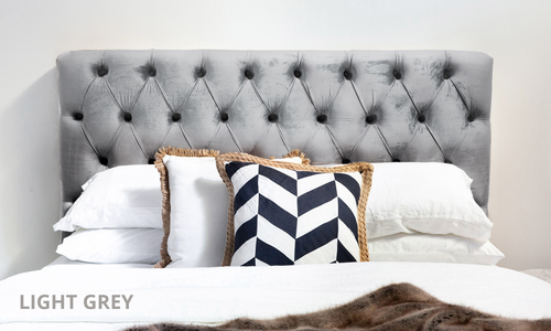 Light grey   kingston velvet tufted headboard   web1