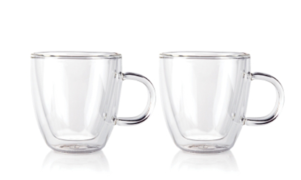 Bodum bistro double wall espresso mug 150ml 2pc set 2459   web1