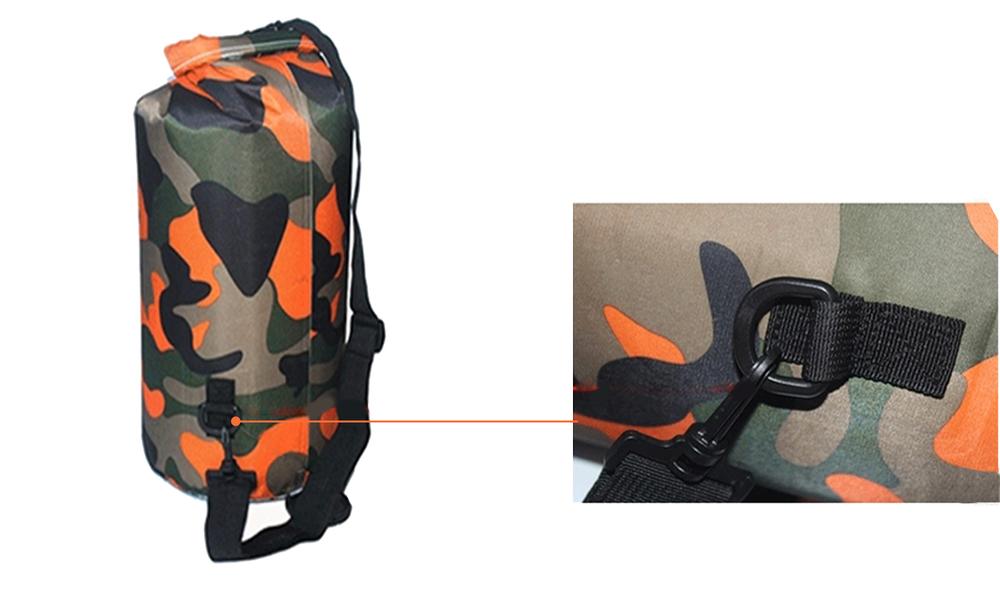 Orange dry bags with shoulder strap 2452   web4