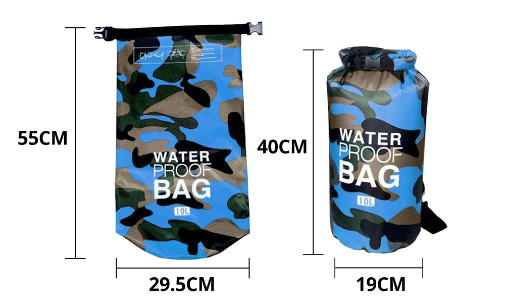 Blue dry bags with shoulder strap 2452   web2