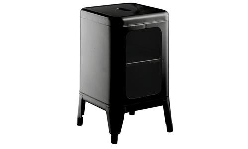 Black   replica frederic gaunet tolix cabinet 2 tier   web1