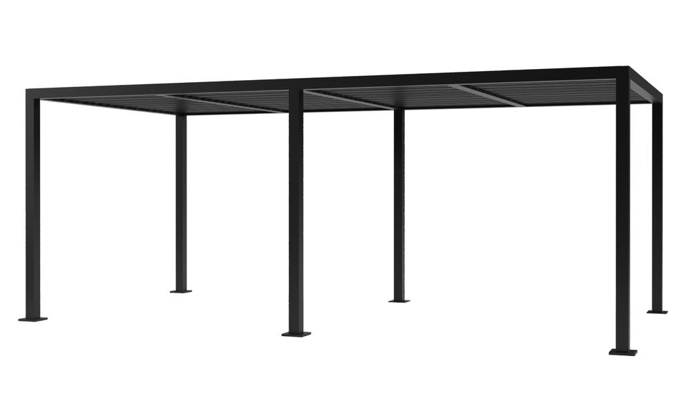 6x3 dark charcoal   aluminium pergola 2356   web1