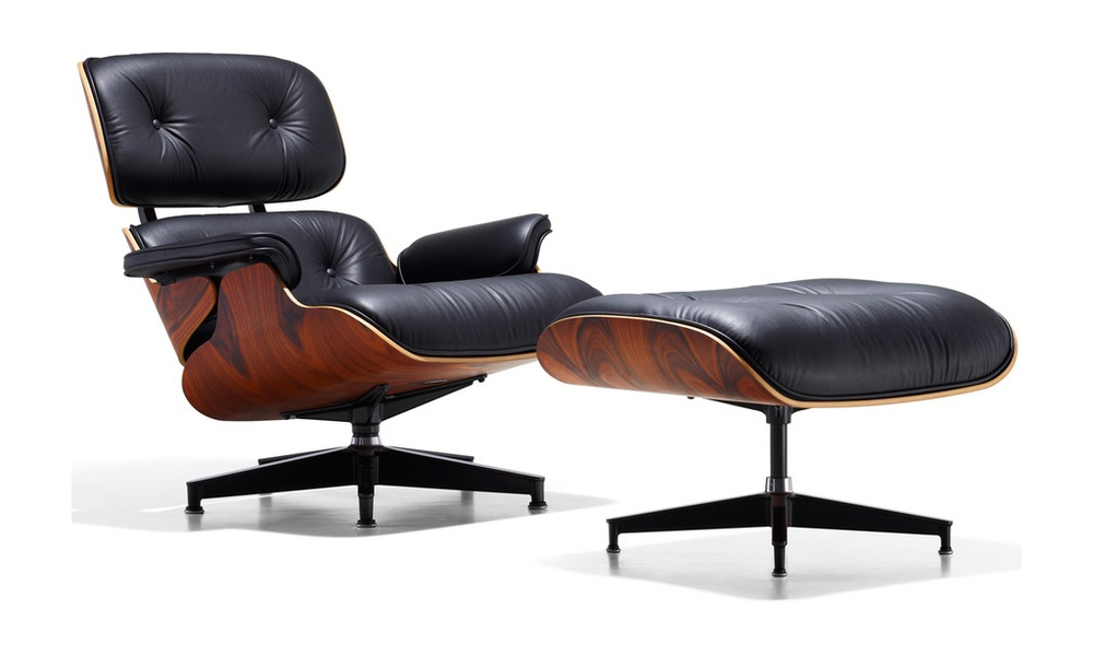 container door replica eames lounge chair ottoman 3