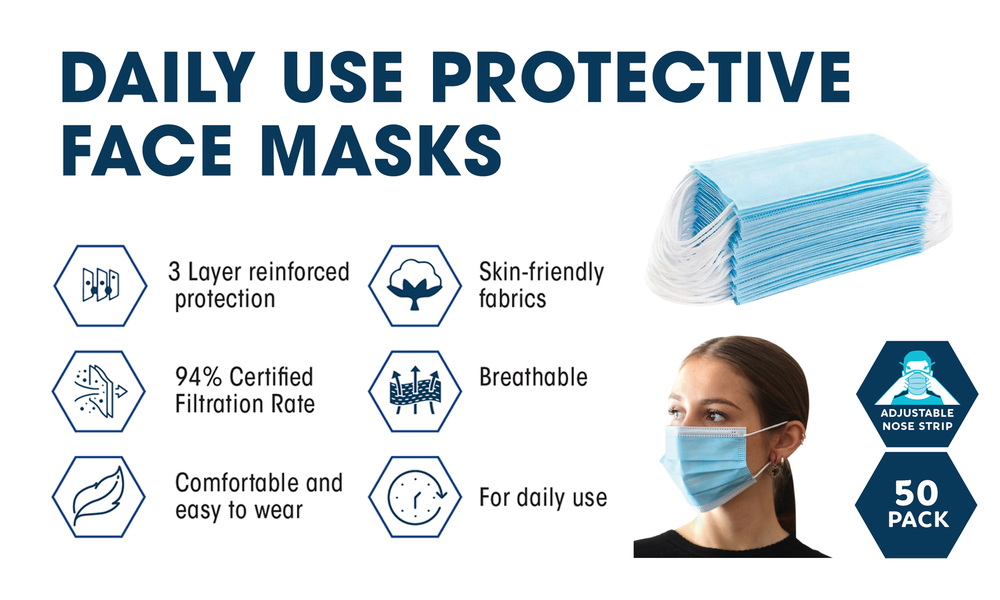 Daily use protective face masks 2480   web3