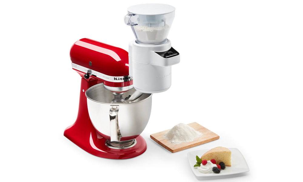 Kitchenaid sifter and scale attachment 2504   web3
