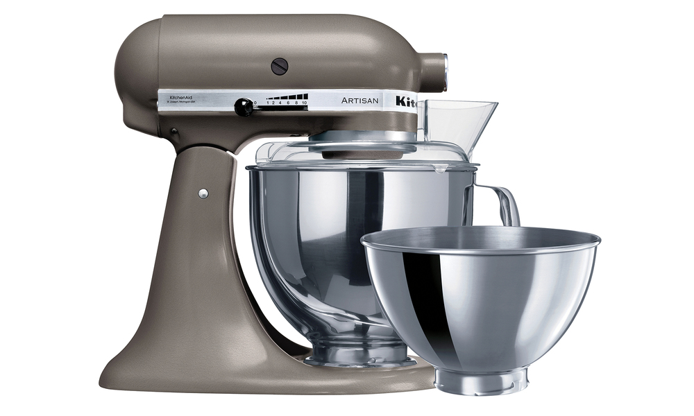 Kitchenaid ksm160 cocoa silver mixer 2502   web1