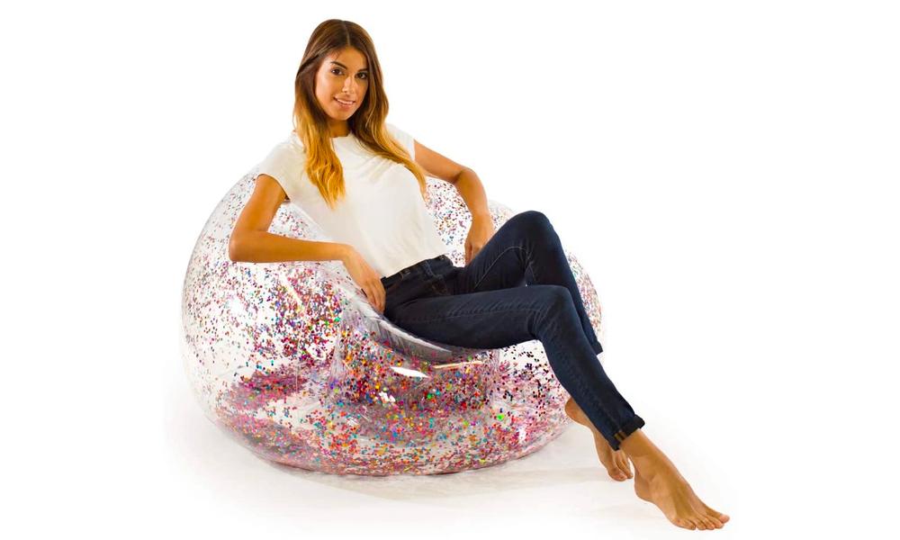 Multi pool candy glitter air chair 2499   web1