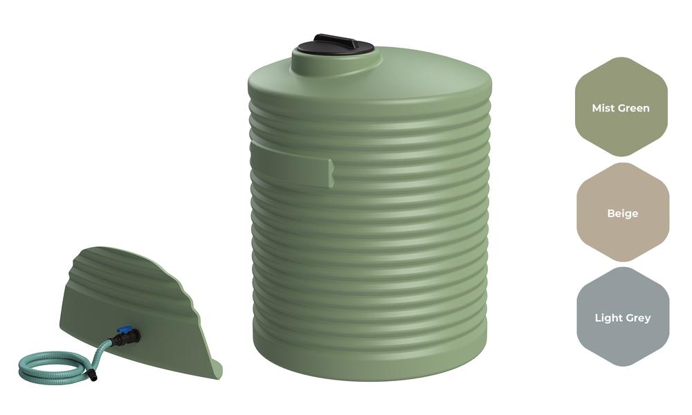 Promax water tank 2000l with fitting kit 2528   web1