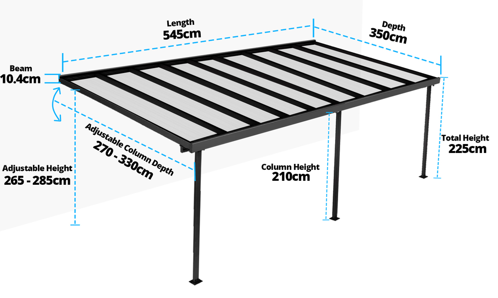 5.45 x 3.5m measurement   web