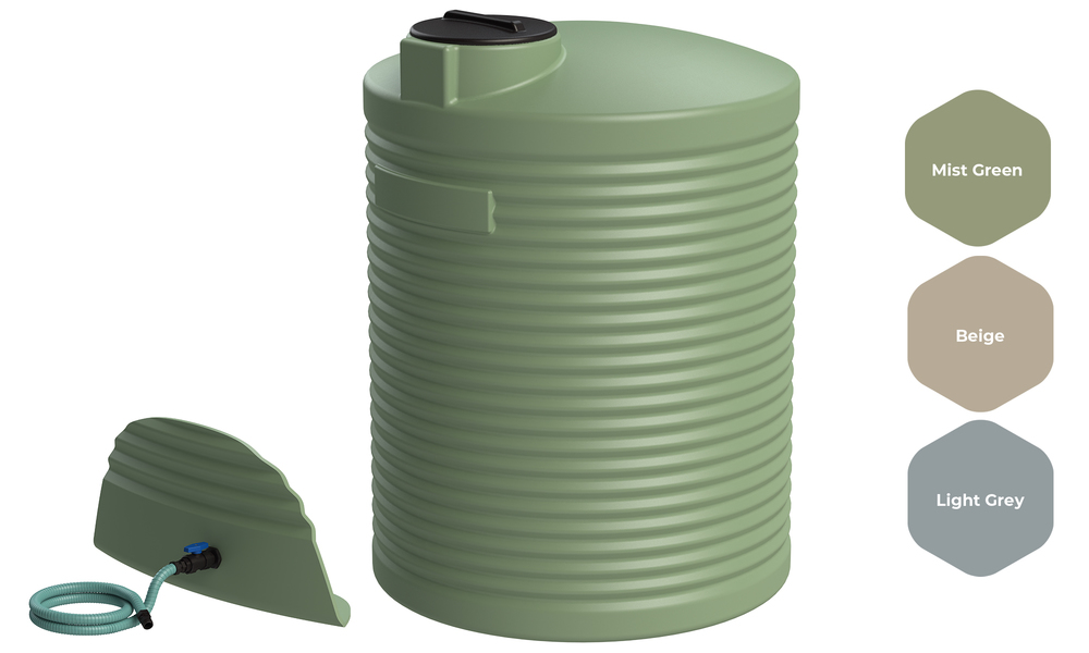 Promax water tank 4000l with fitting kit 2529   web1
