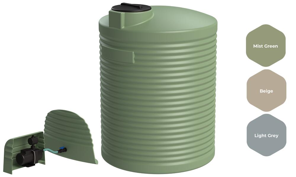 Promax water tank 4000l with pump 2530   web1