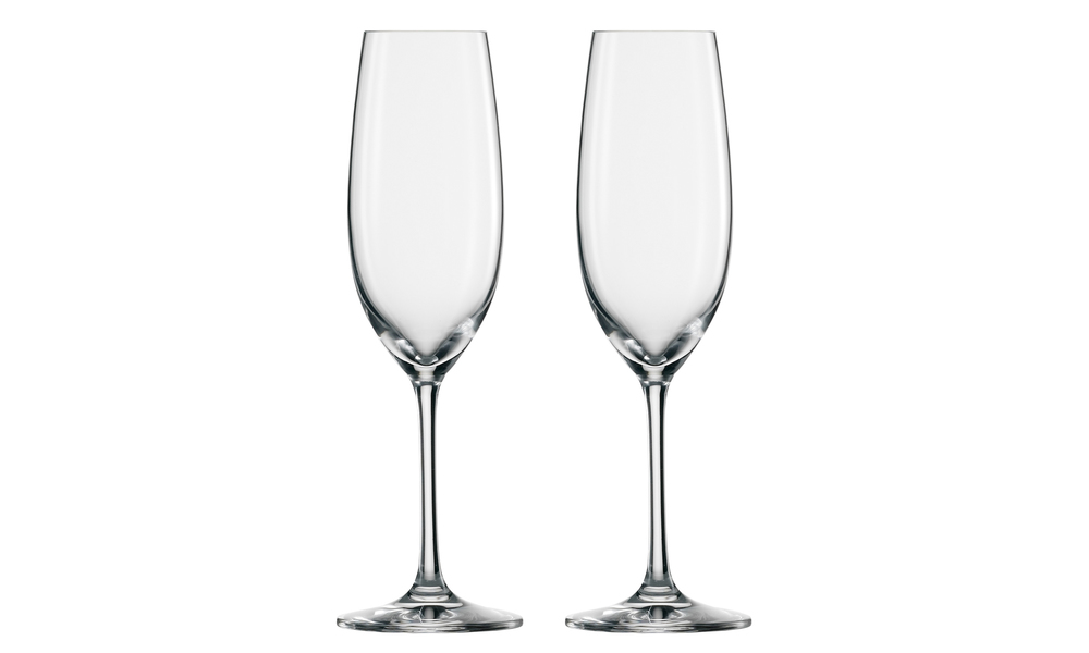 Schott zwiesel set of 2 elegance flute glasses 2537   web1