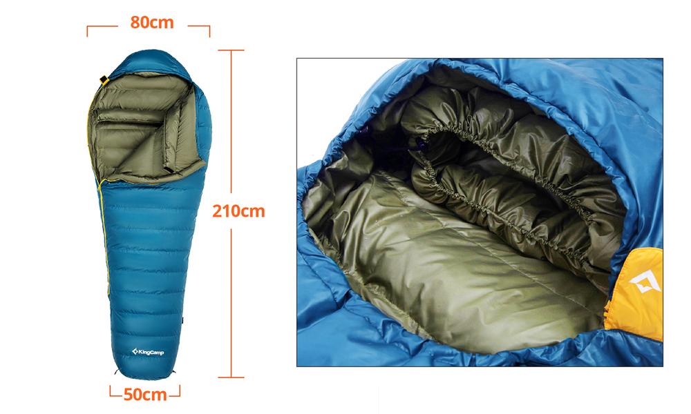 Down sleeping bag 2557   web2