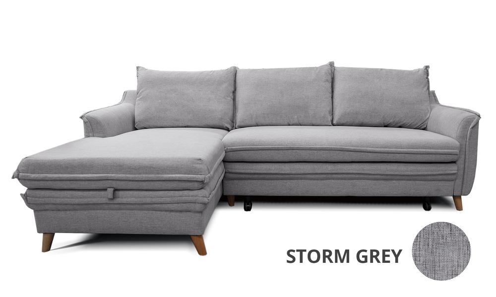 Container Door Ltd   Boston Sofa Bed with Storage   Storm ...
