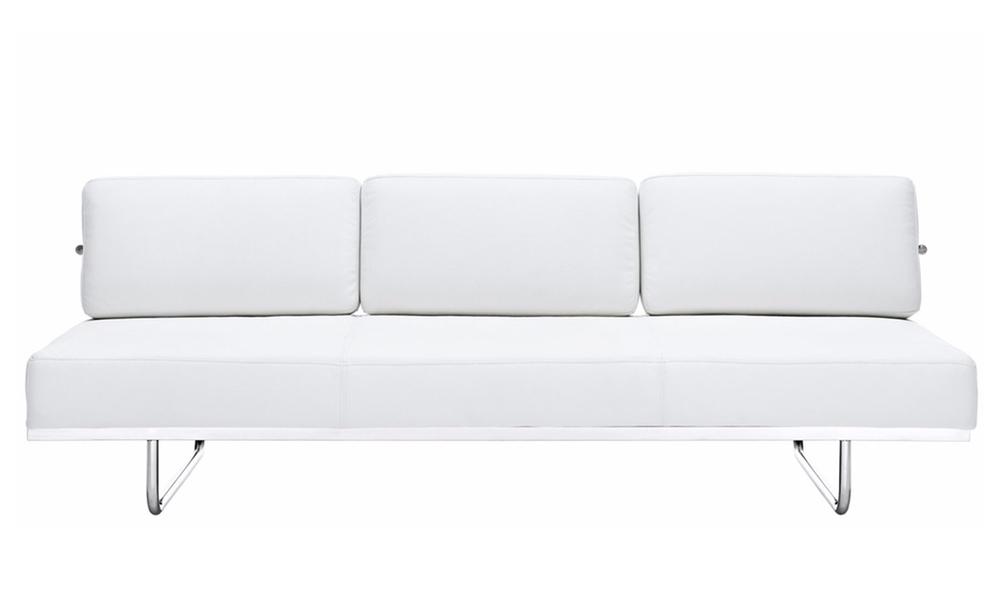 Replica le corbusier lc5 leather sofa   white 570   web1