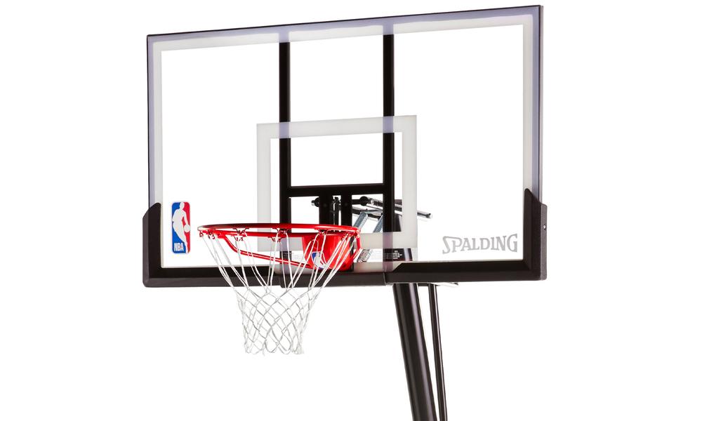 Spalding portable angled basketball hoop 2593   web2